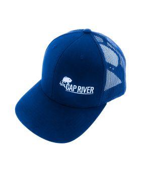 Casquette Cap River bleue